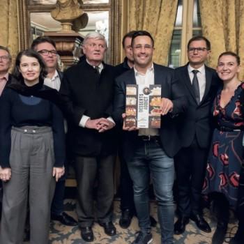 Valentin Néraudeau, lauréat du Prix Procope de la Cuisine Bourgeoise 2019 avec « Desserts Addict »